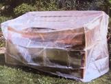 Schutzhülle für Gartenbank Transparent
