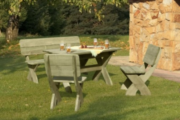 Holzbank Tisch Stühle Gartenpirat Gartenbank Selber Bauen