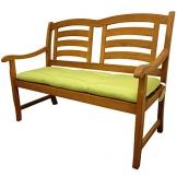 indoba® IND-70405-AUGB2 - Serie Relax - Gartenbank Auflage - Grün - 1
