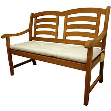 indoba® IND-70407-AUGB2 - Serie Relax - Gartenbank Auflage - Beige - 1