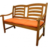 indoba® IND-70408-AUGB2 - Serie Relax - Gartenbank Auflage - Orange - 1