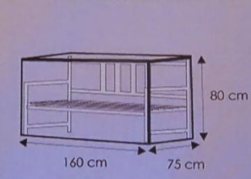 Schutzhülle für Gartenbank Plane Garten Abdeckung Gartenmöbel transparent - 1