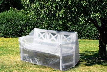 WEHNCKE Schutzhülle für Gartenbänke ca. 160 x 80 x 75 cm - 1